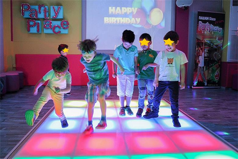 3-7 year old party with games