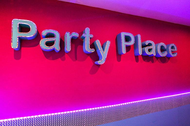 Party Place entrance hall